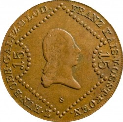 Moneda > 15kreuzer, 1807 - Austria  - obverse