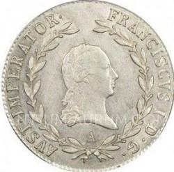 Монета > 20крейцерів, 1817-1824 - Австрія  - obverse