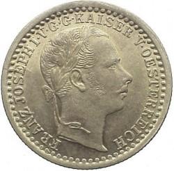 Монета > 5крейцерів, 1858-1864 - Австрія  - obverse