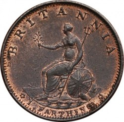 Munt > 1farthing, 1799 - Verenigd Koninkrijk  - reverse