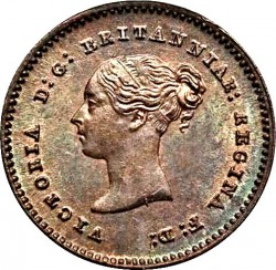 Coin > ¼farthing, 1839-1853 - United Kingdom  - obverse