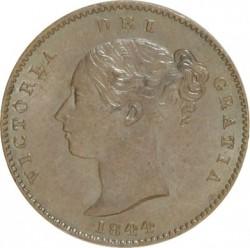 Coin > ⅓farthing, 1844 - United Kingdom  - obverse