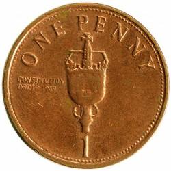 Coin > 1penny, 2005-2009 - Gibraltar  - reverse