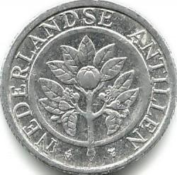 Monedă > 5cenți, 1989-2016 - Antilele Olandeze  - obverse