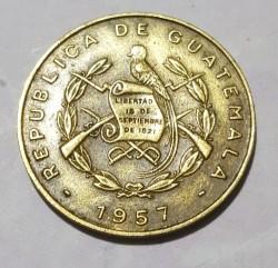 Minca > 1centavo, 1957 - Guatemala  - reverse