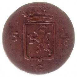 Moneta > 1/16fiorino, 1814-1816 - Indie Olandesi Orientali  - obverse
