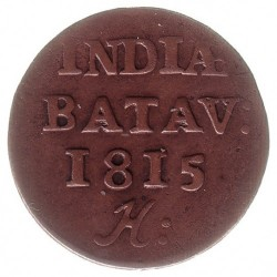 Moneta > 1/16fiorino, 1814-1816 - Indie Olandesi Orientali  - reverse