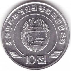 Moneda > 10chon, 2002 - Corea del Norte  - obverse