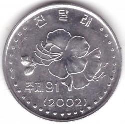 Moneda > 10chon, 2002 - Corea del Norte  - reverse