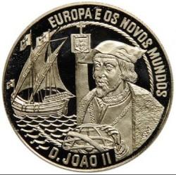 Монета > 2½ЕКЮ-та, 1992 - Португалия  (Europe and the New World - John II) - reverse