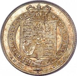 Монета > 1шилінг, 1823-1825 - Велика Британія  - reverse