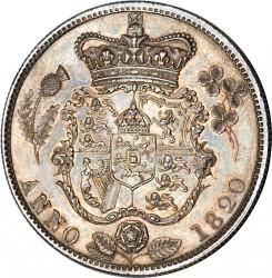 Монета > ½крони, 1820-1823 - Велика Британія  - reverse