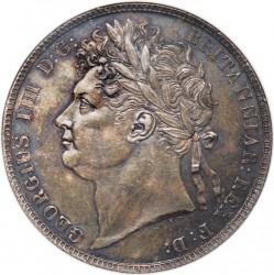 Монета > ½крони, 1823-1824 - Велика Британія  - obverse