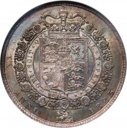 Монета > ½крони, 1823-1824 - Велика Британія  - reverse
