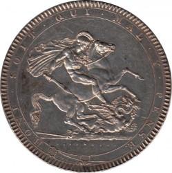 العملة > 1کرون, 1818-1820 - المملكة المتحدة  - reverse