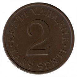 Νόμισμα > 2Σεντί, 1934 - Εσθονία  - obverse