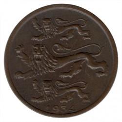 Νόμισμα > 2Σεντί, 1934 - Εσθονία  - reverse
