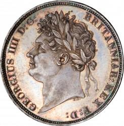 Монета > 1крона, 1821-1822 - Велика Британія  - obverse