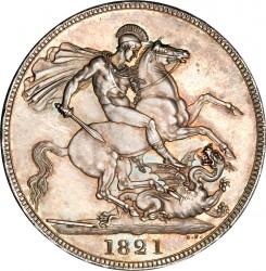 Монета > 1крона, 1821-1822 - Велика Британія  - reverse