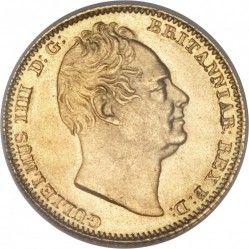 Münze > ½Sovereign, 1834 - Vereinigtes Königreich   - obverse