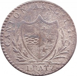 Moneta > 1batzen, 1826 - Kantony Szwajcarii  (Duża moneta: Średnica 28 mm) - obverse