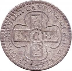 Moneta > 1batzen, 1826 - Kantony Szwajcarii  (Duża moneta: Średnica 28 mm) - reverse