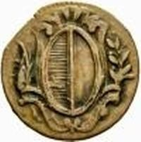 Монета > 1рапен, 1804 - Кантони на Швейцария  (Date within cartouche) - obverse