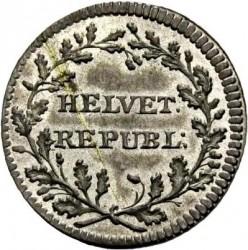 Moneta > ½batzen, 1799 - Svizzera  (Senza numerale al Dritto) - obverse