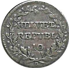 Moneta > 1batzen, 1799-1803 - Svizzera  - obverse