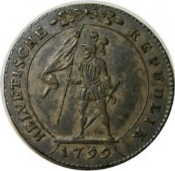 Monedă > 10batzen, 1798-1801 - Elveția  - obverse