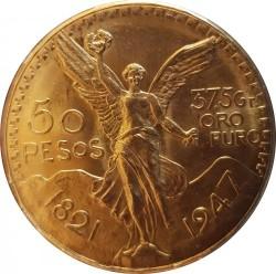 Moeda > 50pesos, 1921-1947 - México  - reverse
