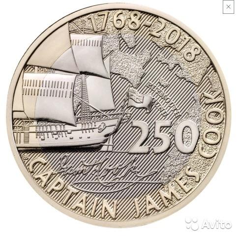 2 Pfund 2018 James Cook Vereinigtes Königreich Münzen Wert