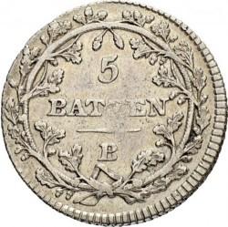 Moneta > 5batzen, 1799-1802 - Svizzera  - reverse