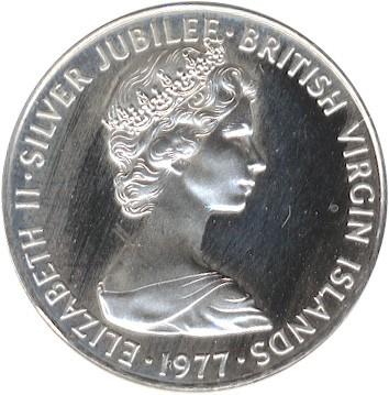 1 Cent 1977 Accession Of Queen Elizabeth Ii Britischen