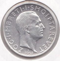 سکه > 1فرانگآر, 1935-1937 - آلبانی  - reverse