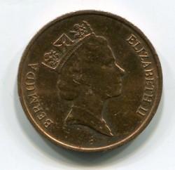 Coin > 1cent, 1986-1990 - Bermuda  - obverse