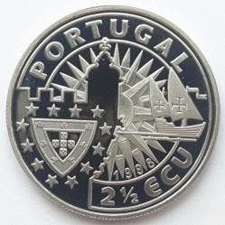 Монета > 2½ЕКЮ-та, 1998 - Португалия  (Europe and the New World - Afonso de Albuquerque) - obverse