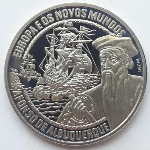 PORTUGAL 2,50// 2 1//2 ECU PRE EURO 1998 AFONSO ALBUQUERQUE PROOF UNC MINT G421