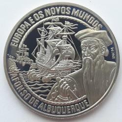 Монета > 2½ЕКЮ-та, 1998 - Португалия  (Europe and the New World - Afonso de Albuquerque) - reverse