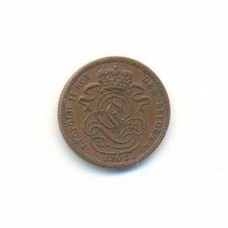 Munt > 1centime, 1832-1863 - Belgie  - reverse