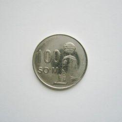 Moneda > 100so'm, 2018 - Uzbekistán  - reverse