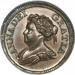 מטבע > 1פרטינג, 1714 - בריטניה  - obverse