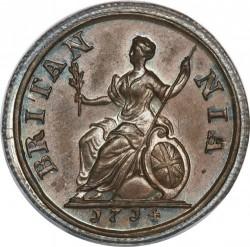 מטבע > 1פרטינג, 1714 - בריטניה  - reverse