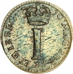 מטבע > 1פאני, 1703-1713 - בריטניה  - reverse