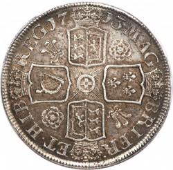 מטבע > 1כתר, 1713 - בריטניה  - reverse