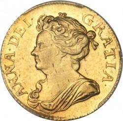 מטבע > 1גינאה, 1707-1709 - בריטניה  - obverse