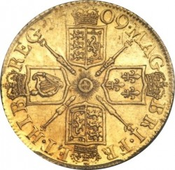 מטבע > 1גינאה, 1707-1709 - בריטניה  - reverse