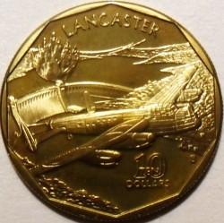 Moneta > 10dollari, 1991 - Marshall (Isole)  (Avro Lancaster) - reverse