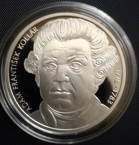 10 Euro 2018 Adam František Kollár Slowakei Münzen Wert Ucoinnet