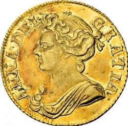 Кованица > 1guinea, 1710-1714 - Уједињено Краљевство  - obverse